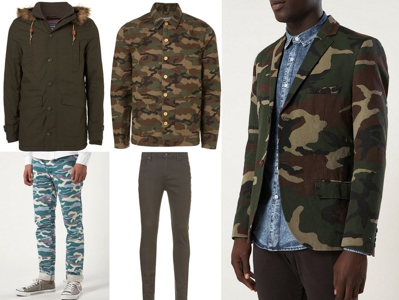 Estilo militar  Camuflaje en la moda masculina  a41023a8facd