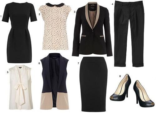 2cd7a05a3c Debes tener al menos una blusa blanca, una negra y una azul. Estas las  podrás combinar en ...