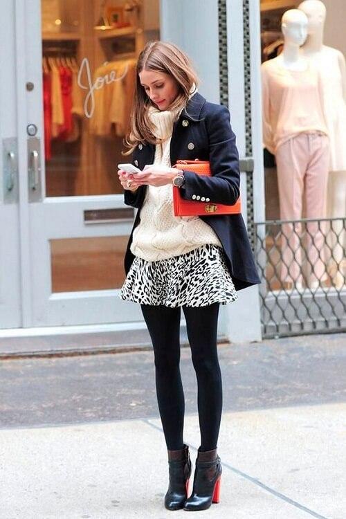 ac632b792 Cómo lucir las piernas en invierno   Lolita Moda