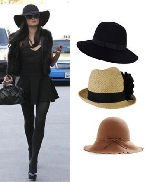 Este sombrero muy femenino llamado fedora 2d943a11561