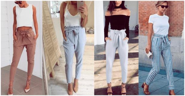 Los pantalones con volantes est n de moda en el verano 2018 33a5cacf92d