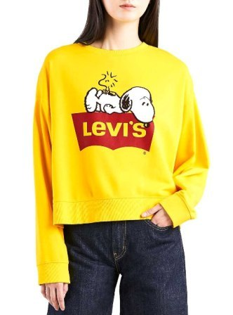 moderno y elegante en moda estilo distintivo mejor valor Colección Levis x Snoopy