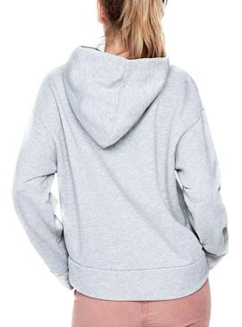 Sudadera Pepe Jeans Erin Gris Mujer