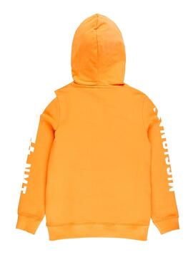 Sudadera Name It Toke Naranja Niño
