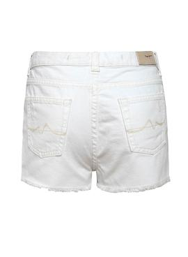 Short Pepe Jeans Patty Blanco para Niña