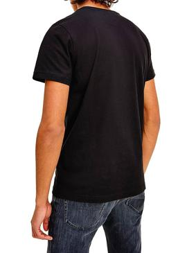 Camisetas Tommy Jeans 2 Pack Negro Blanco Hombre