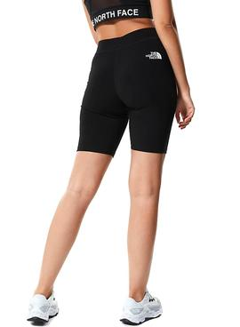 Short The North Face Cotton Negro Para Mujer