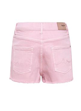 Short Pepe Jeans Patty Rosa para Niña
