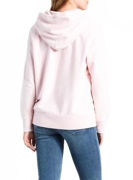 Sudadera Levis Graphic Sport Hoodie Rosa Mujer