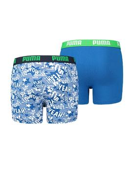 Pack Boxer Puma Play Loud Azul
