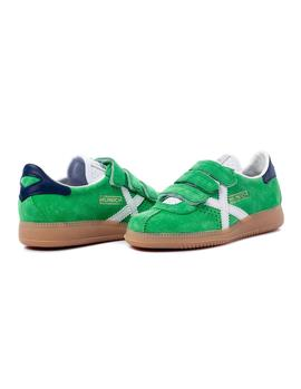 Zapatillas Munich Mini Barry VCO 15 Verde Niño