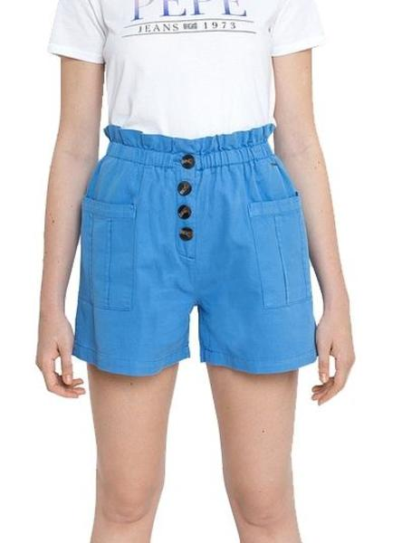 Short Pepe Jeans Nell Azul Claro Para Mujer