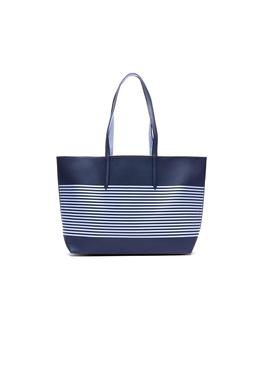 Bolso Lacoste Shopping Reversible Azul