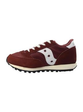 Zapatillas Saucony Jazz Original Vintage Granate K