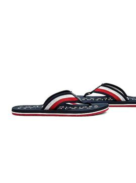 Chanclas Tommy Hilfiger Corporate Marino Hombre