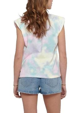 Camiseta Only Amy Padded Multicolor Para Mujer