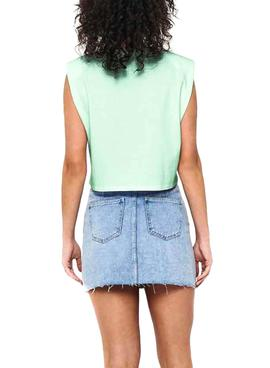 Top Only Jen Life Verde Para Mujer