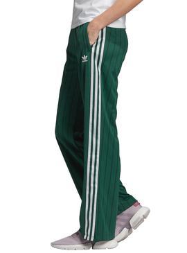 Pantalon Adidas Track Verde Mujer