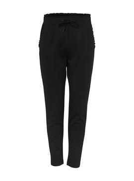 Pantalon Only PoptrashEasyFrill Negro