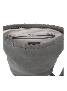 Bolso Pepe Jeans Lana Gris Mujer
