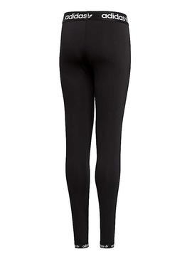 Leggings Adidas Poly Negro Niña