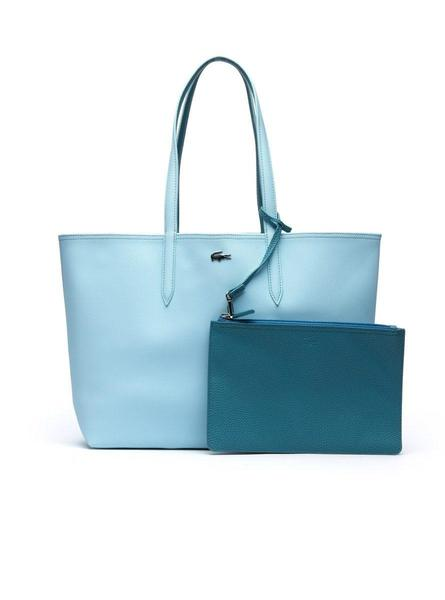 Bolso Lacoste Anna Reversible Azul Mujer