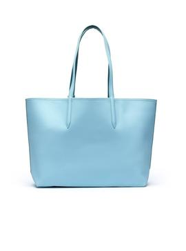 Bolso Lacoste Anna Reversible Azul Mujer
