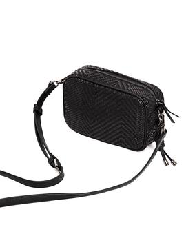 Bolso Pepe Jeans Shannon Negro Mujer