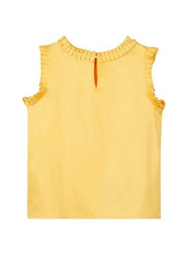 Blusa Name It Fiba Amarillo Para Niña