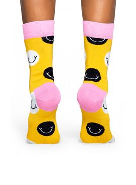 Calcetines Happy Socks Smile Amarillo
