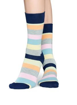 Calcetines Happy Socks Stripe Gris