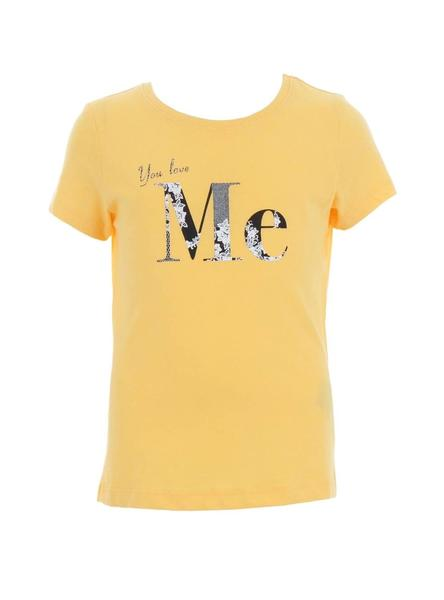 Camiseta Name It Fia Amarillo Niña