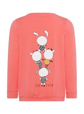 Camiseta Name It NMFDAXINE Coral