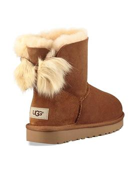 Botas UGG Mini Pluff Bow Chestnut