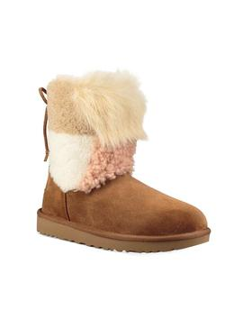 Botas UGG Classic Charm Patchwork Fluff