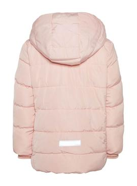 Cazadora Name It Mil Puffer Kids Rosa