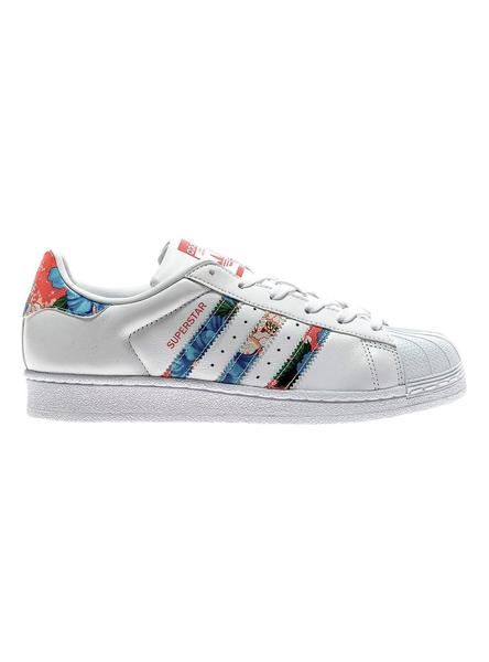 Retirada Impermeable Abreviatura  Zapatillas Adidas Superstar Floral