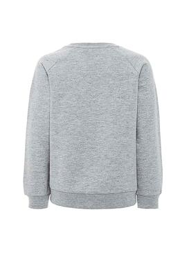 Sudadera Name It Badulle Gris Niña