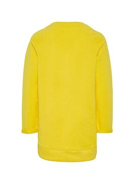 Sudadera Name It Volta Amarillo Niña