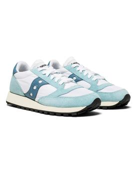 Zapatillas Saucony Jazz Original Vintage White Blu
