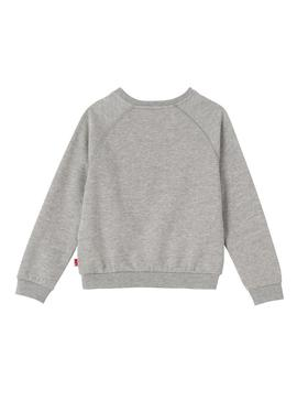 Sudadera Levis Kids Brush Gris