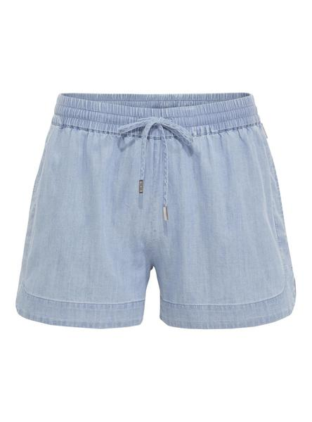 Short Tommy Jeans Chambray Azul Mujer