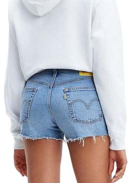 Short Levis 501 Peanuts Snoopy Mujer