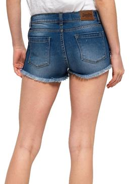 Shorts Superdry Denim Hot Mujer