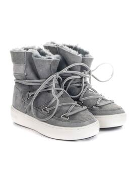 Botas Moon Boot Pulse Gris para Niña