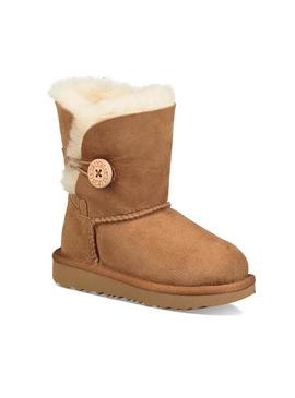 Botas Ugg Bailey Button II Kids Chestnut