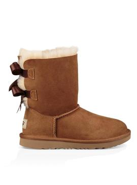 Botas UGG Bailey Bow II Kids Chestnut