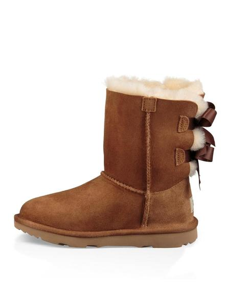 Kids Chestnut Ugg Botas Bailey Ii Bow W9YEIHD2