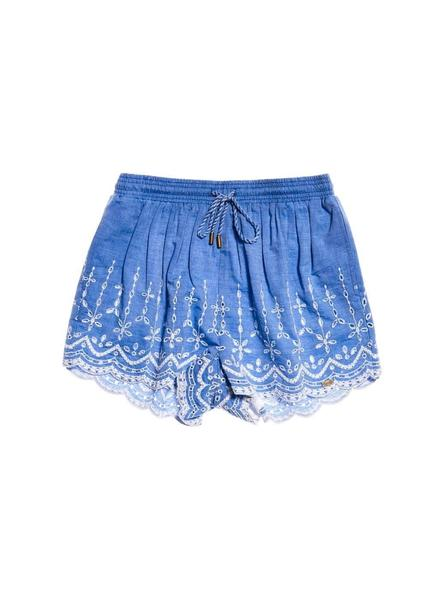 Shorts Superdry Anabelle Chambray Mujer