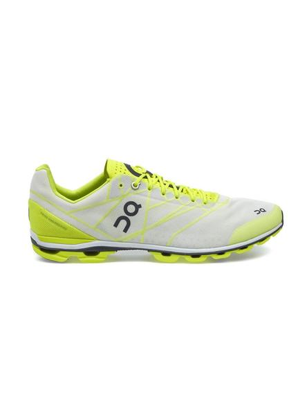Zapatillas On Running CloudFlash Neon White Mujer